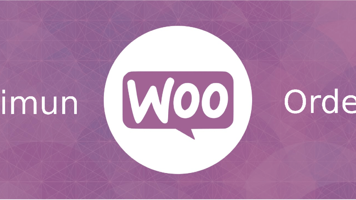 Set a minimum order in Woocommerce 3.2.x