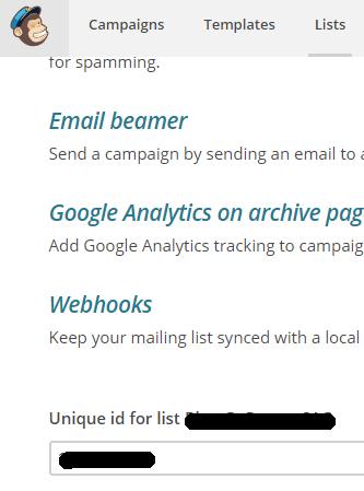 personalizar mailchimp