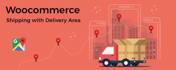 Método de envío usando áreas de entrega en Woocommerce
